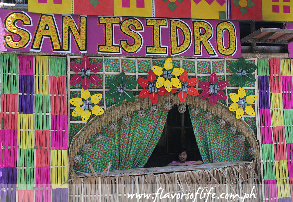 Another house that had been decked for the 'Pahiyas Festival'