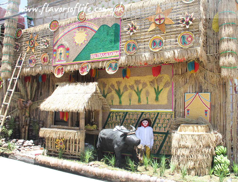 One of the decorated houses in Lucban, Quezon