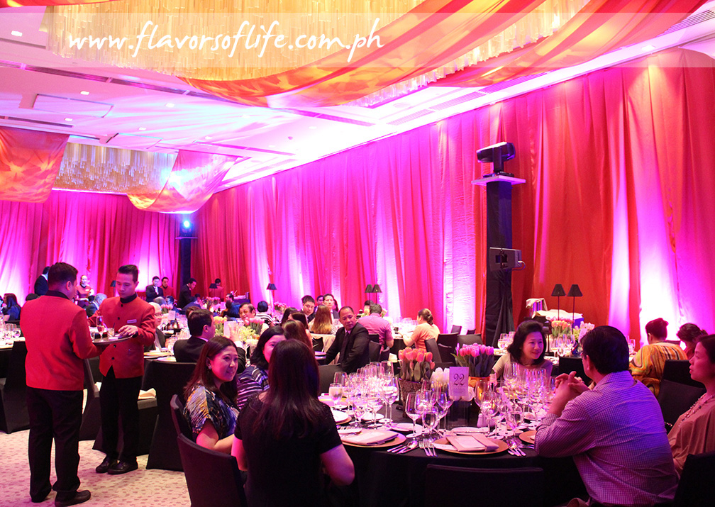 Opera gala dinner at Marco Polo Ortigas Manila's Grand Ballroom