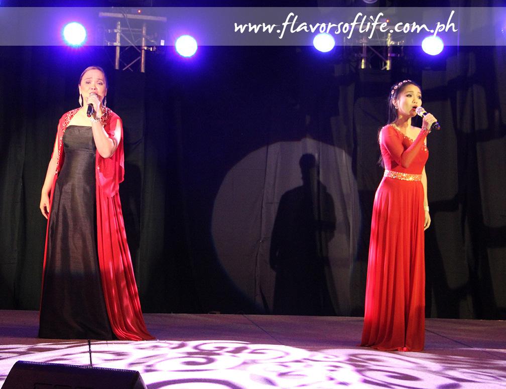 Philippine Opera Company's Karla Gutierrez and Marian Santiago