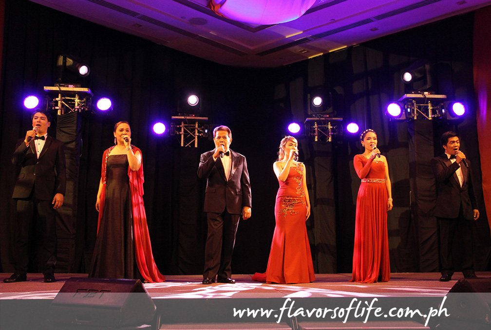 Tenor Francisco Aseniero, Asia's Got Talent runner-up Gerphil Flores and the Philippine Opera Company in a stellar performance