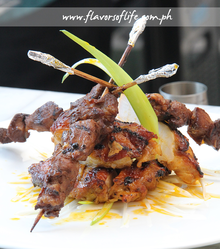 Boneless Chicken Inasal crowned by Pork Barbecue