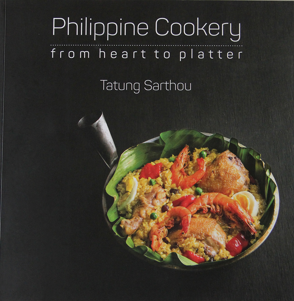 Chef Myke 'Tatung' Sarthou's first cookbook is now available in bookstores