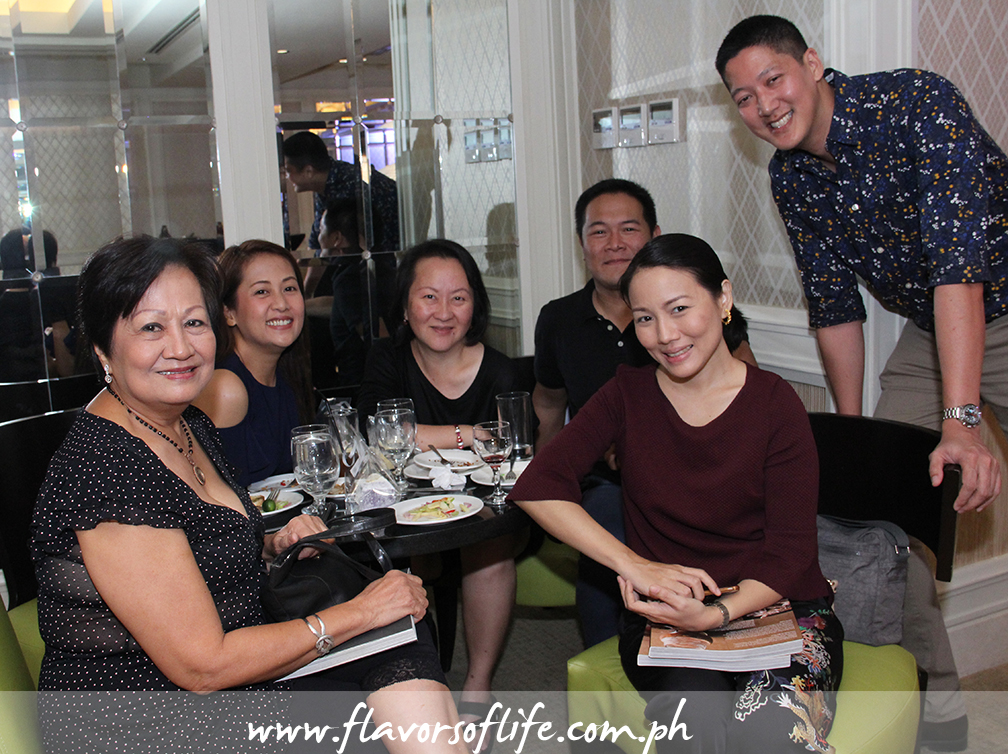 A cheerful group, from left: Edith Singian, Rowena Jose, me, Chef Dennis Hipolito, Chef Jackie Ang Po, and Angelo Comsti