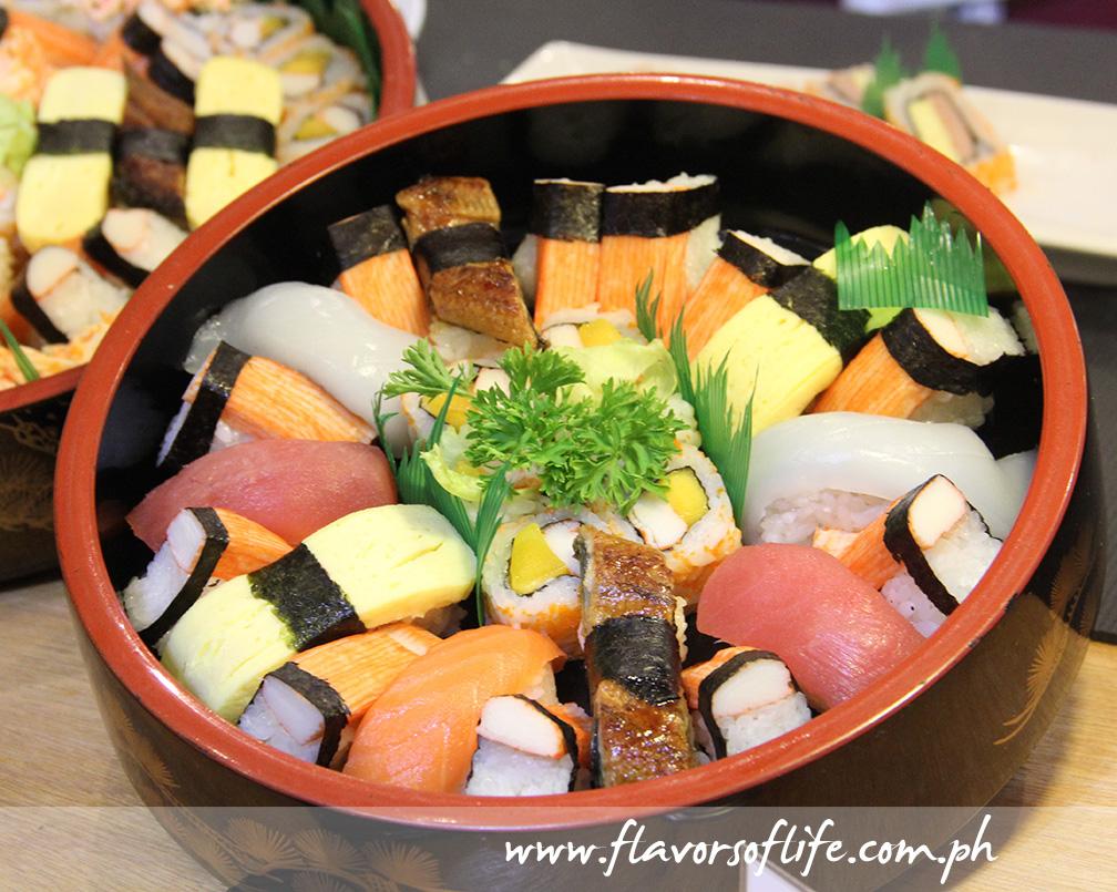 Kimono Ken's Mixed Sushi