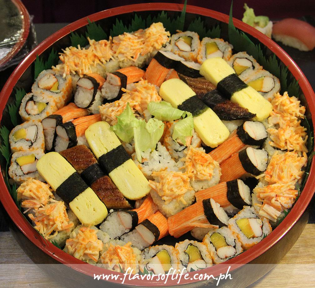 Kimono Ken's Rainbow Platter