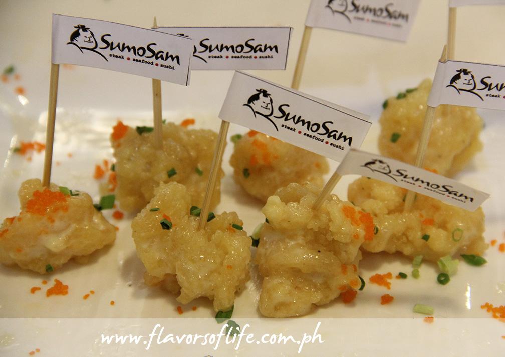 SumoSam's Sweet Rock Shrimp Tempura