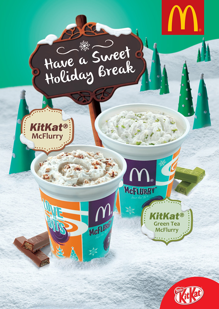 McDonald's holiday desserts