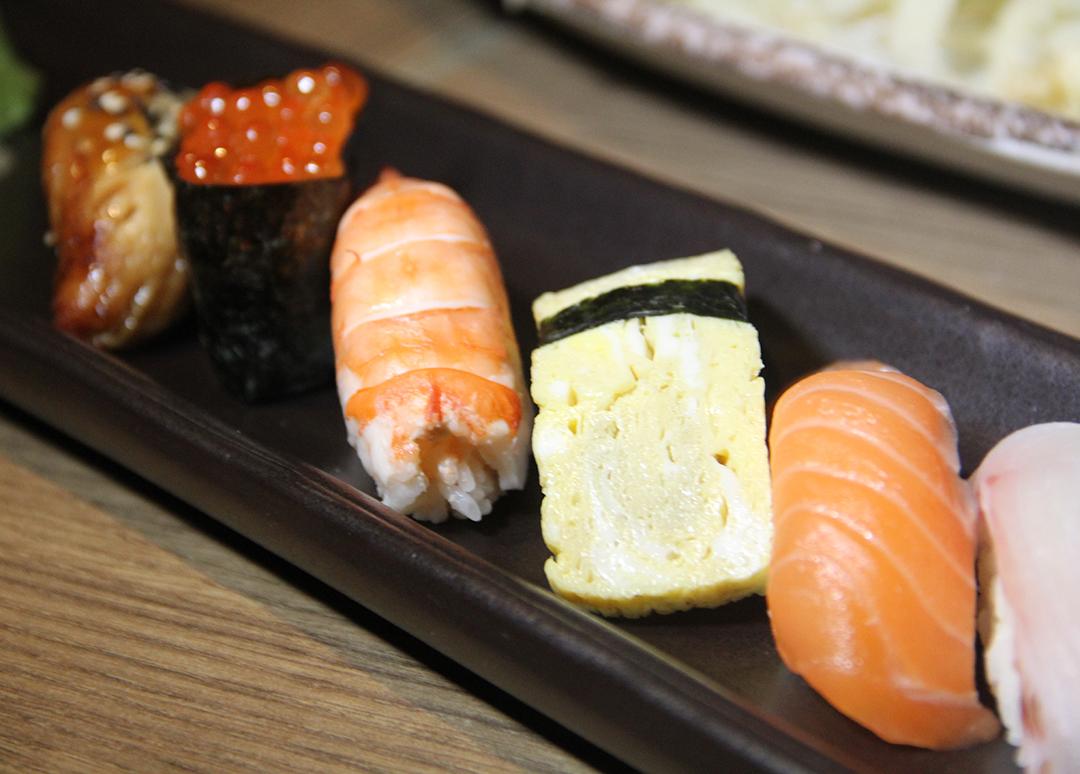 Wafu's Sushi Platter Take