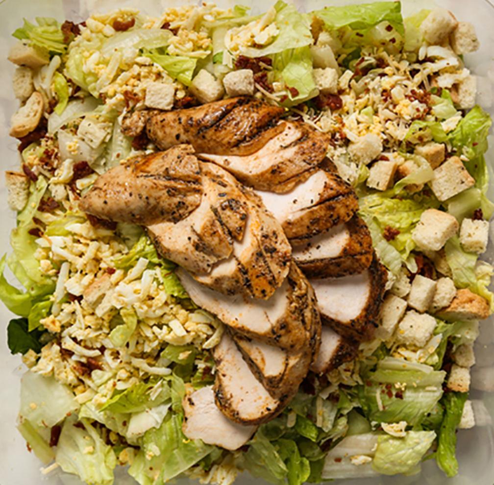 Hail Caesar with Chicken  tray