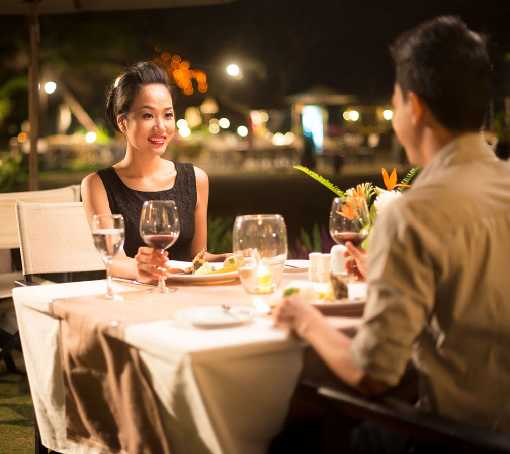 Romantic Valentine Dinner at Discovery Suites Manila