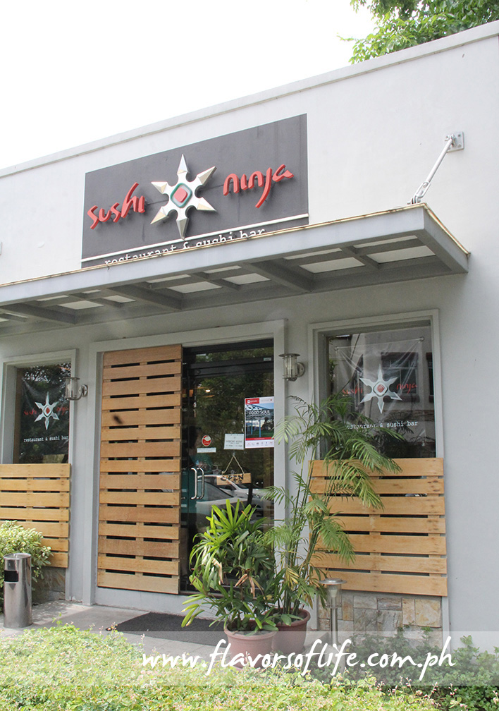 Sushi Ninja is a haven for good Japanese food in Westgate Alabang