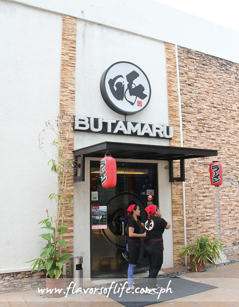 Butamaru is an original Pinoy concept of a ramen house