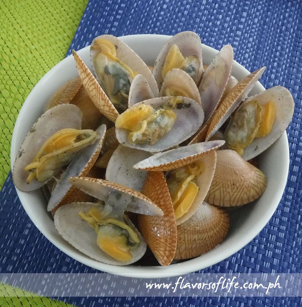 Stir-fried Pacific Clams