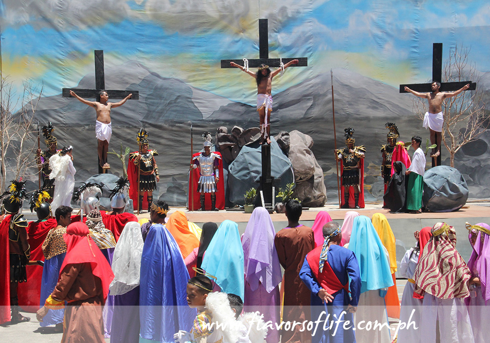 The crucifixion and death of Jesus Christ that led to His eventual resurrection on Easter Sunday is the highlight of Marinduque's Moriones Festival