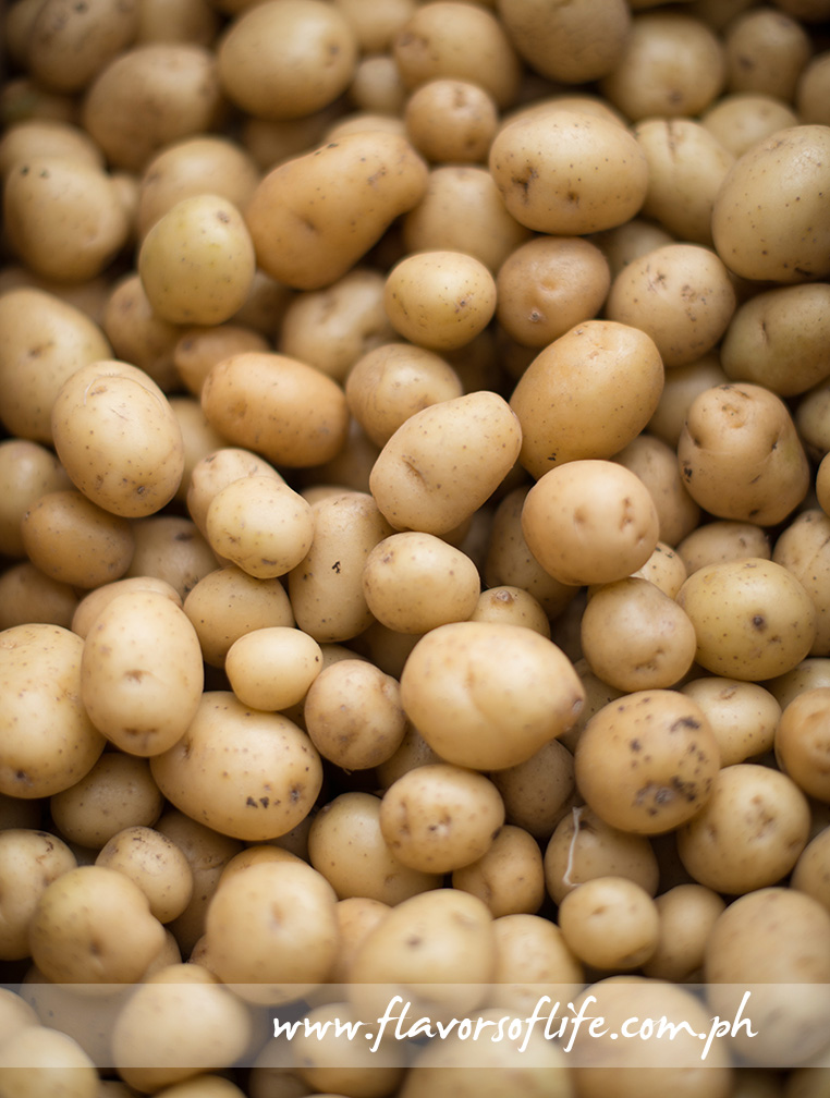 Klamath Pearls potato