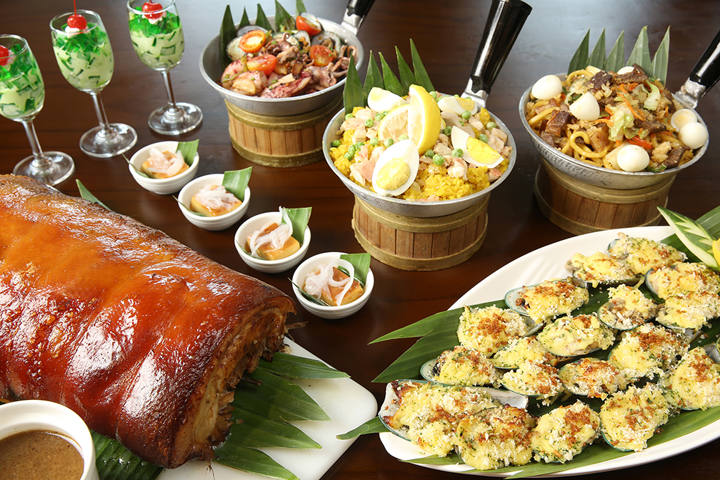 A royal buffet of Filipino regional favorites for Mother's Day at Eastwood Richmonde Hotel
