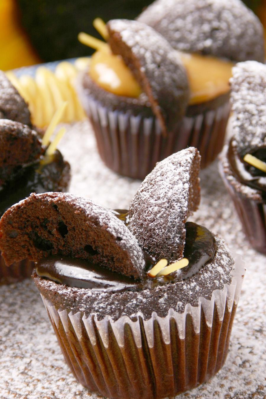 Summer Butterfly Muffins