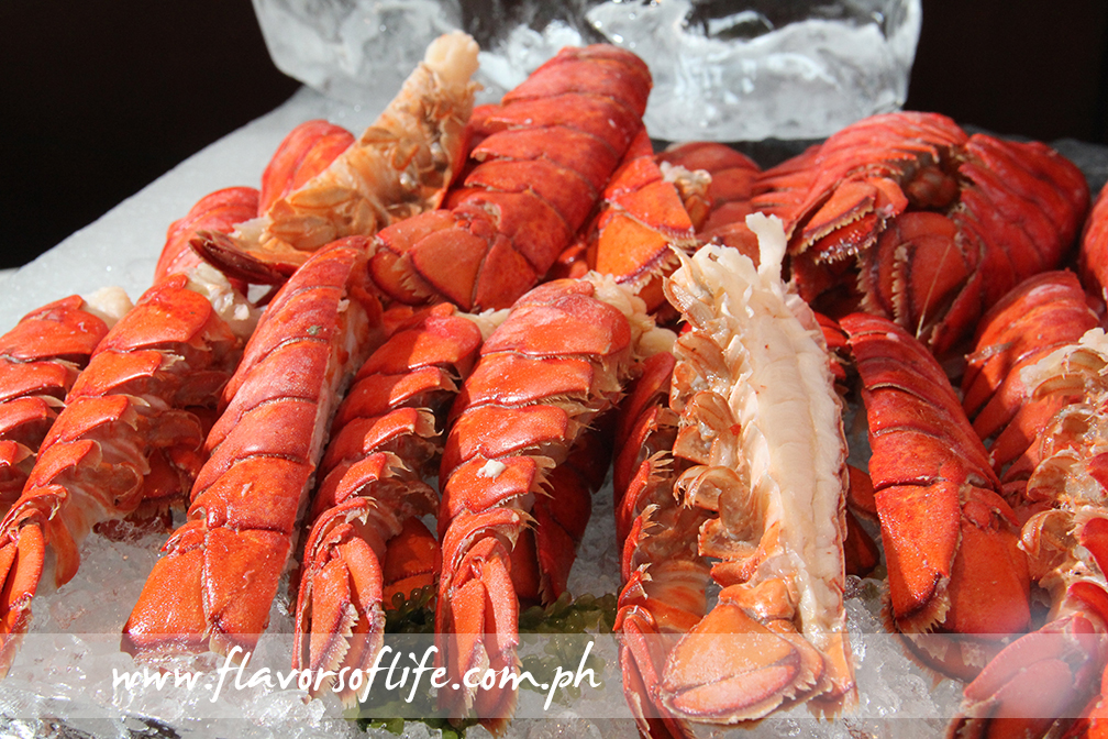 ... and Boston lobsters!