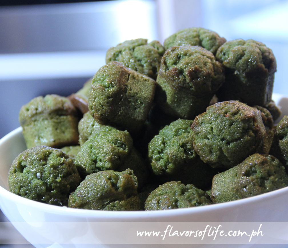 Mini Green Tea Muffins