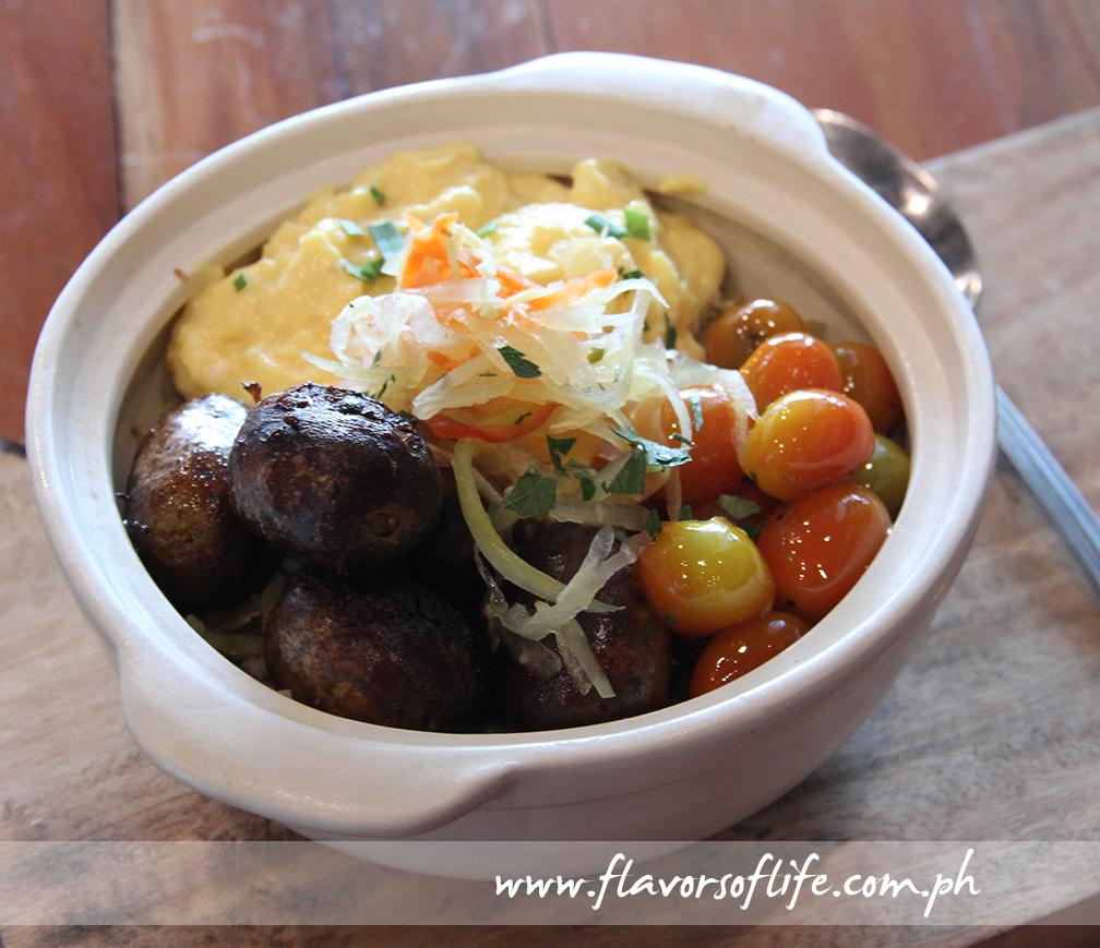 Longganisa Cauli-bowl