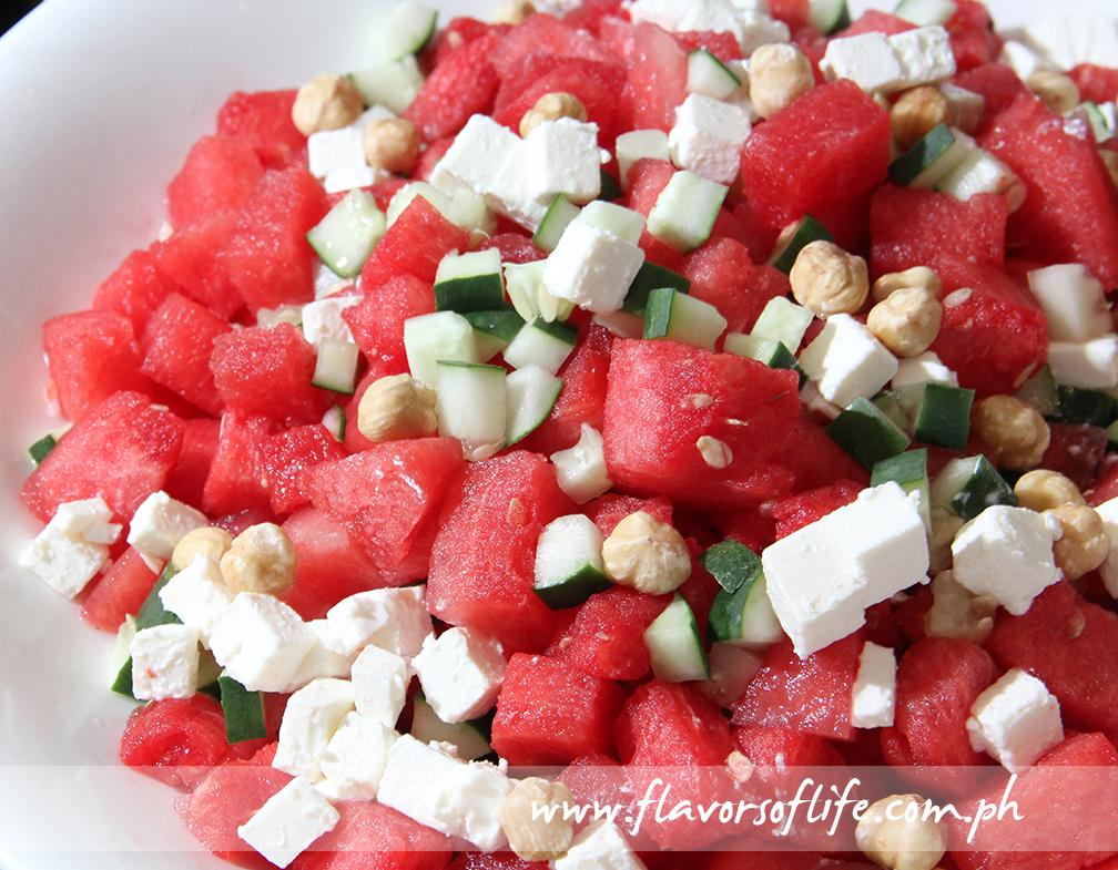 Watermelon Salad with Feta
