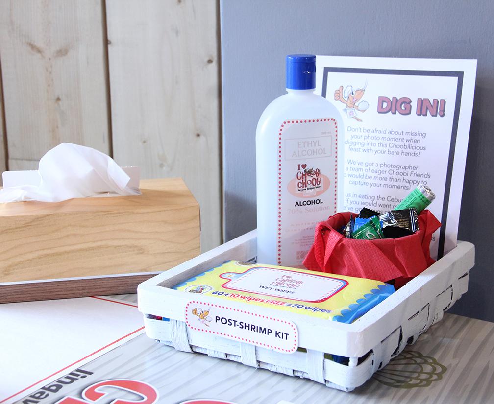 Choobi Choobi's Post-Shrimp Kit