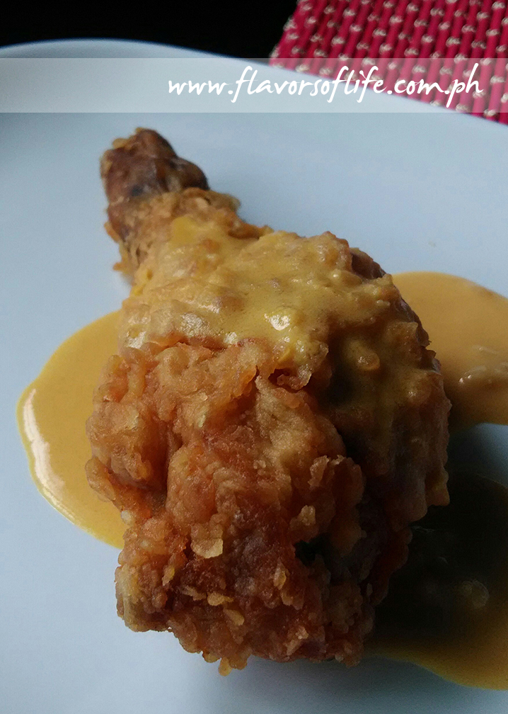 KFC's Salted Egg Yolk Chicken