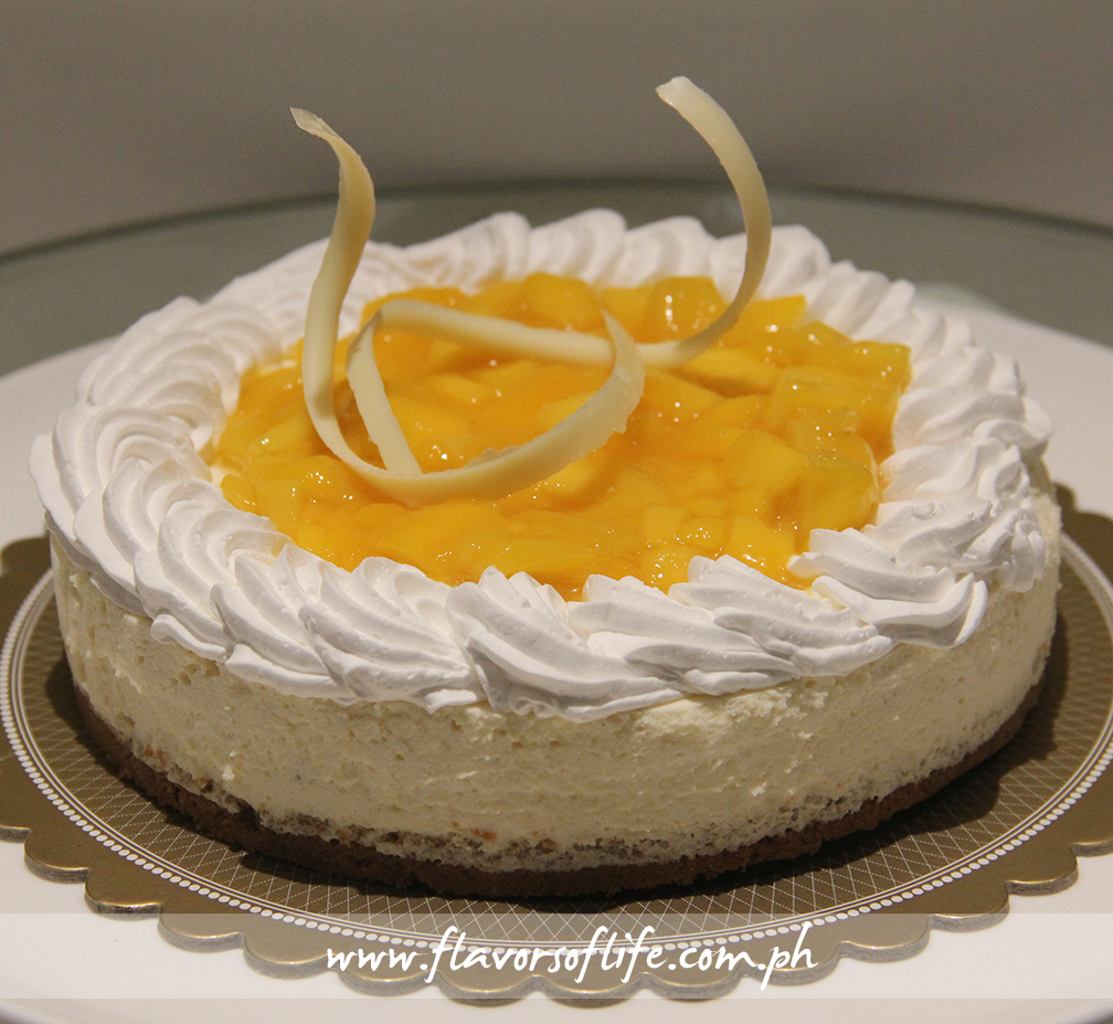Lime & Mango Cheesecake