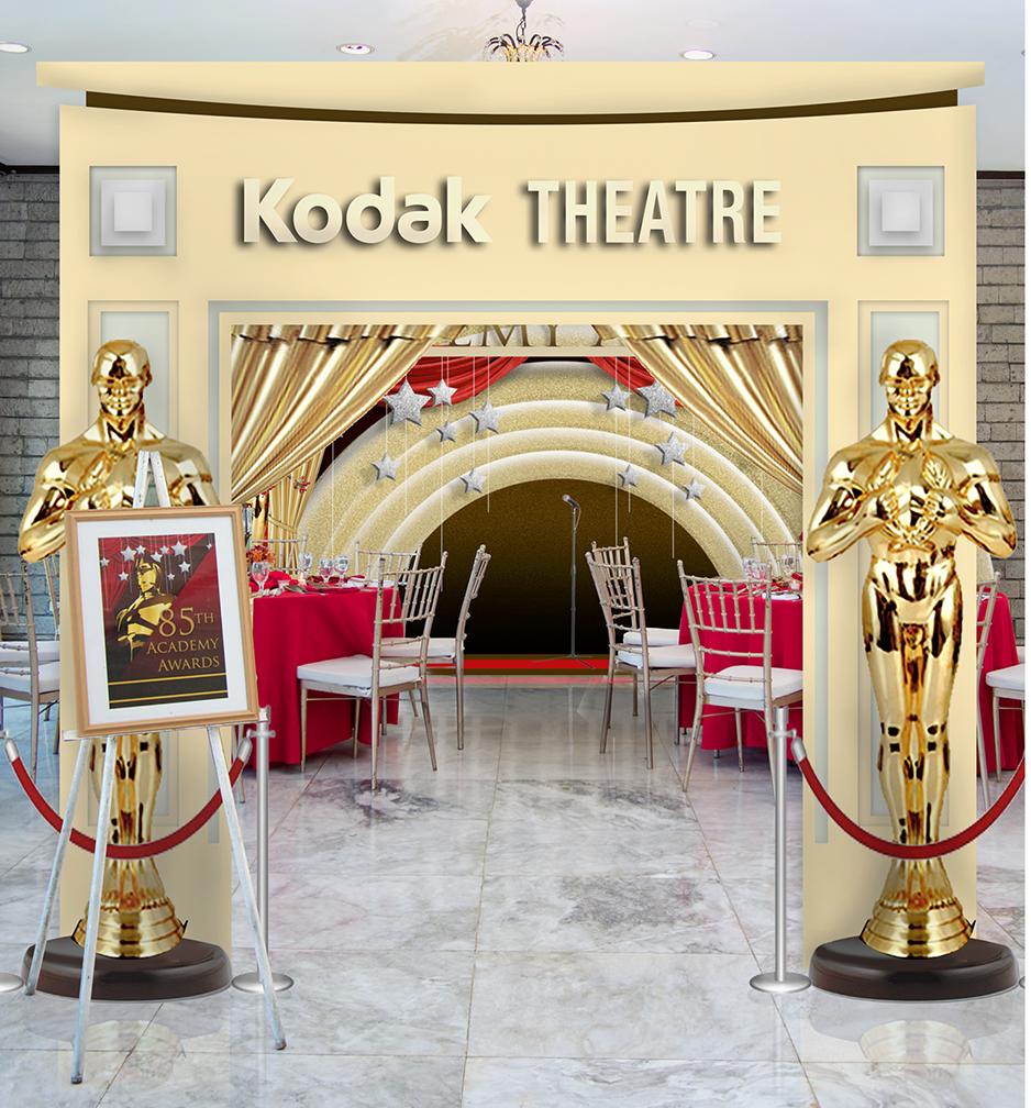 Awards Night themed setup