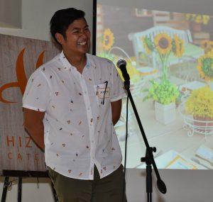 Hizon's Catering general manager Joseph Hizon