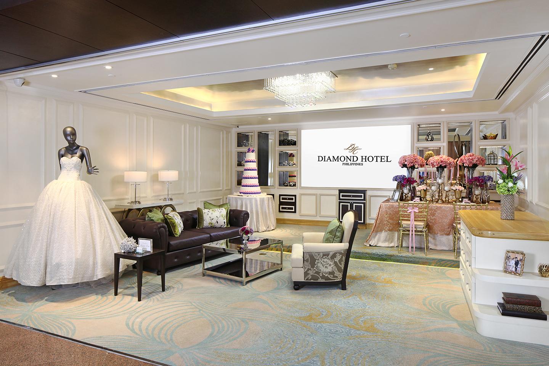 Diamond Hotel Philippines' new Events Lounge