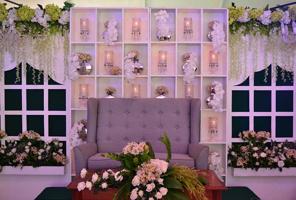 The Wedding corner at Oasis Manila