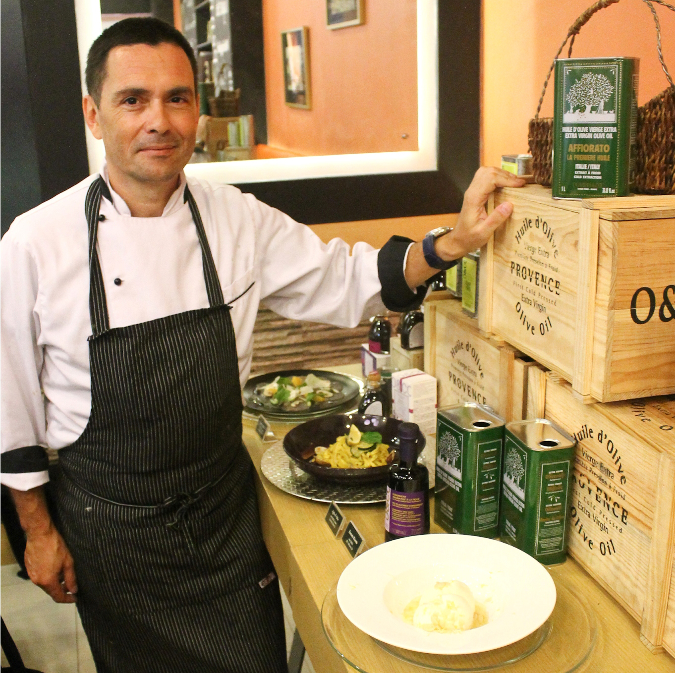 Va Bene Pasta Deli executive chef and owner Massimo Veronesi