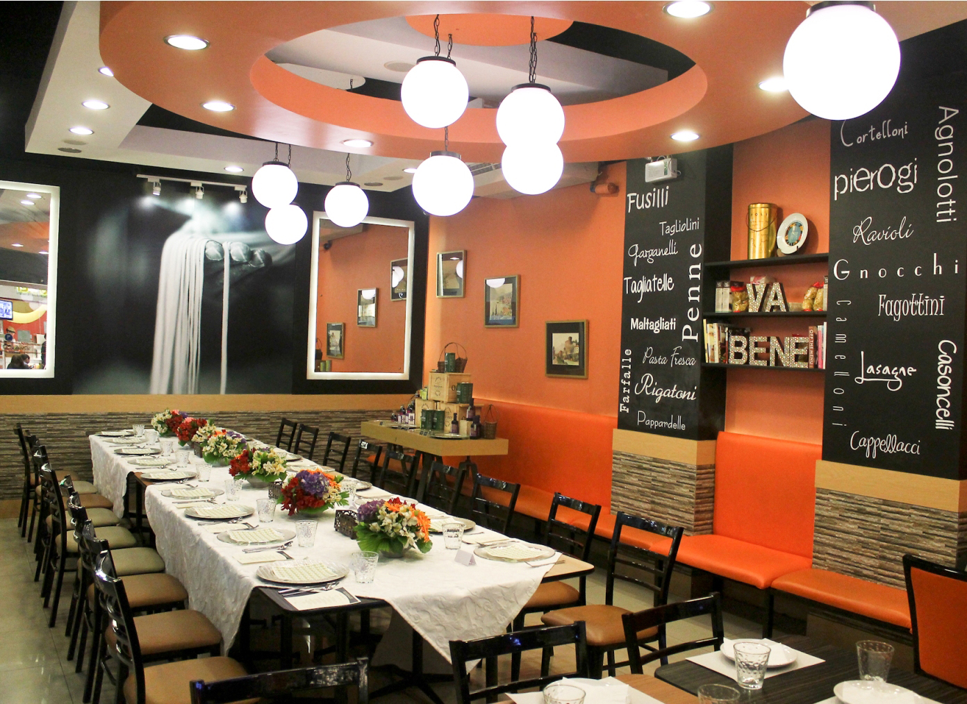 Top artisan Italian restaurant Va Bene Pasta Deli