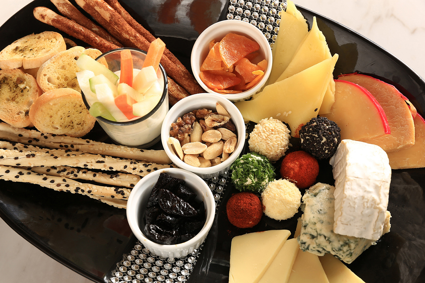 Cheese Platter at Richmonde Hotel Iloilo