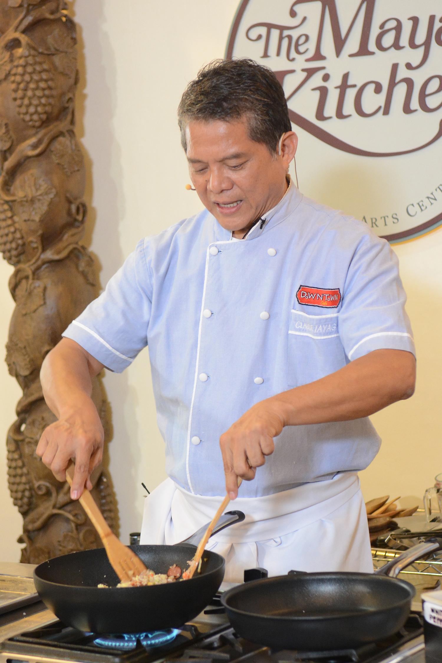 Chef Claude Tayag