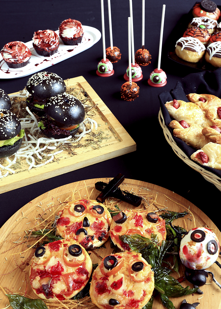 A buffet of spooky snack delights at Eastwood Richmonde Hotel's 'Haunted Hollywood' kiddie party