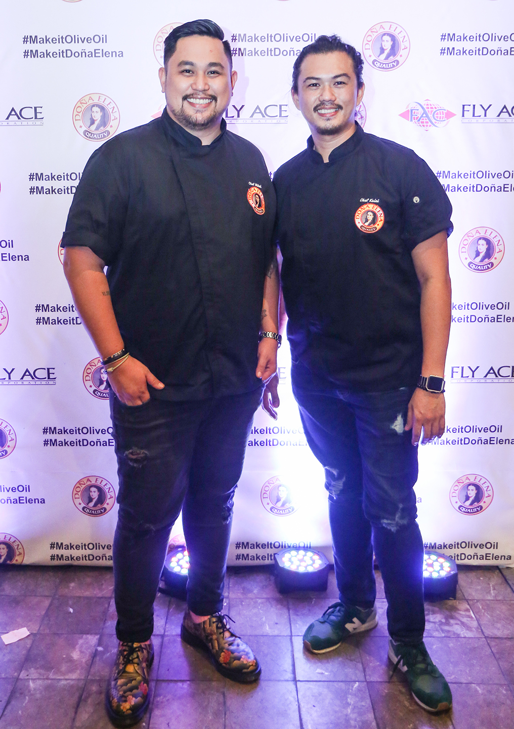 Chef Mikel Zaguirre of Locavore and Chef Kalel Chan of Raintree Restaurants