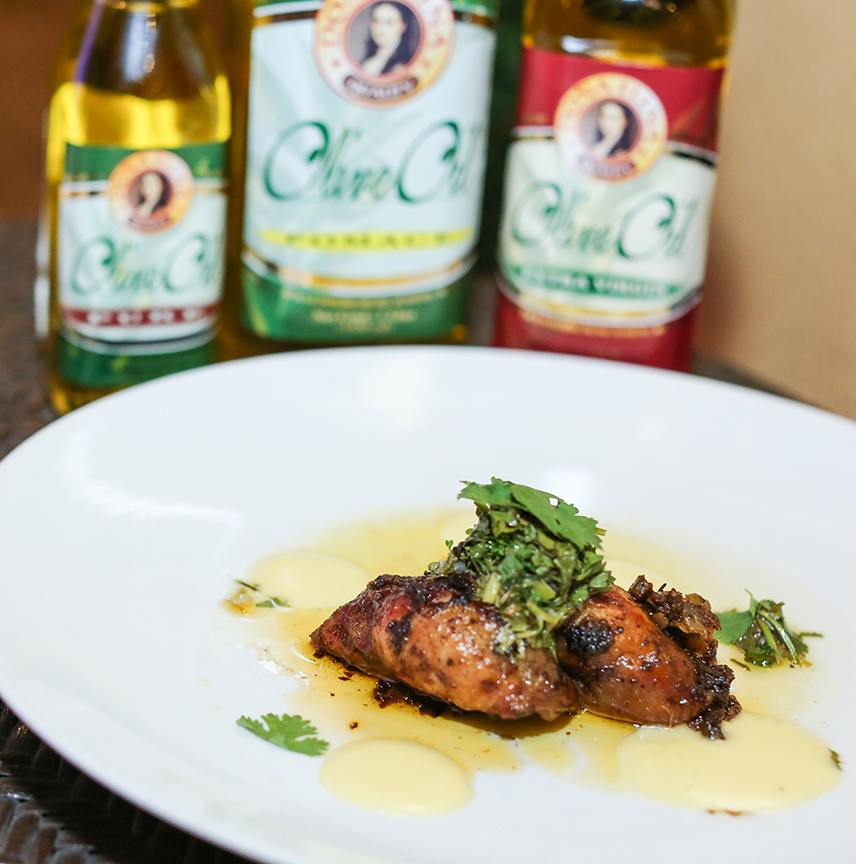 Chef Mikel Zaguirre's Mojo Chicken