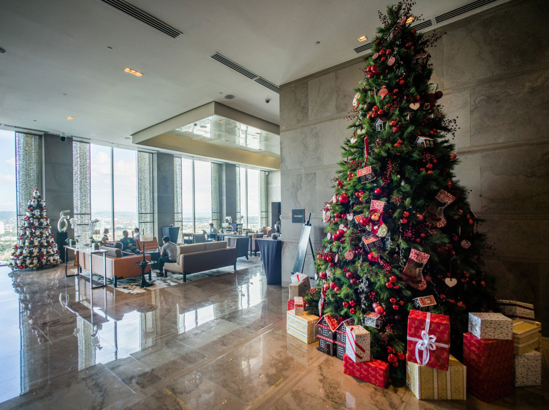 Marco Polo Ortigas Manila's chocolate-inspired Tinsel Town Christmas Tree