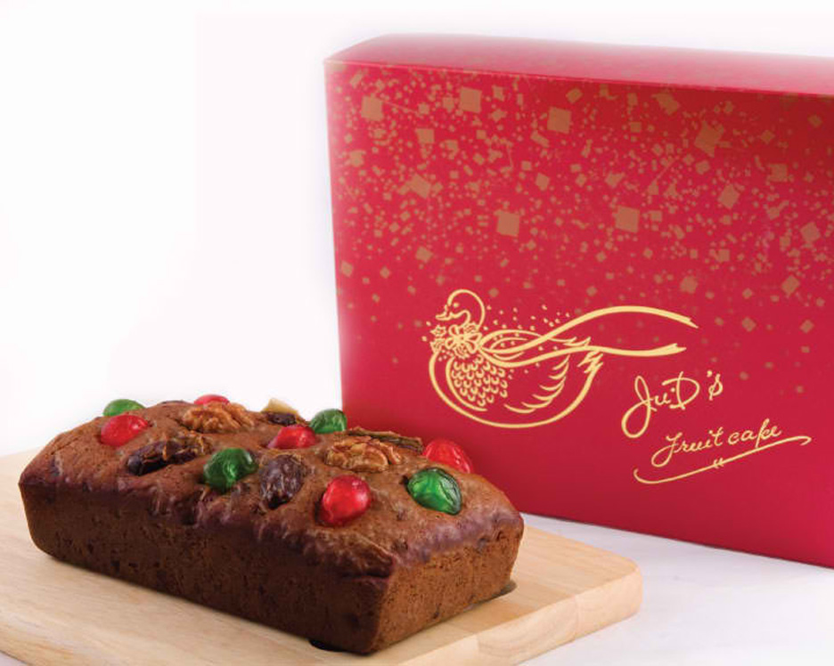 Classic Fruitcake by Ju.D Lao in regular loaf size