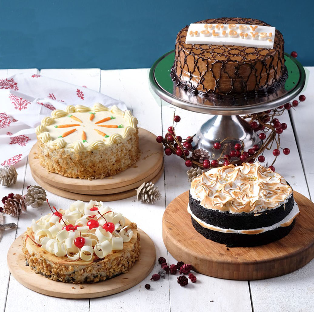 Some of Cravings' best-selling cakes