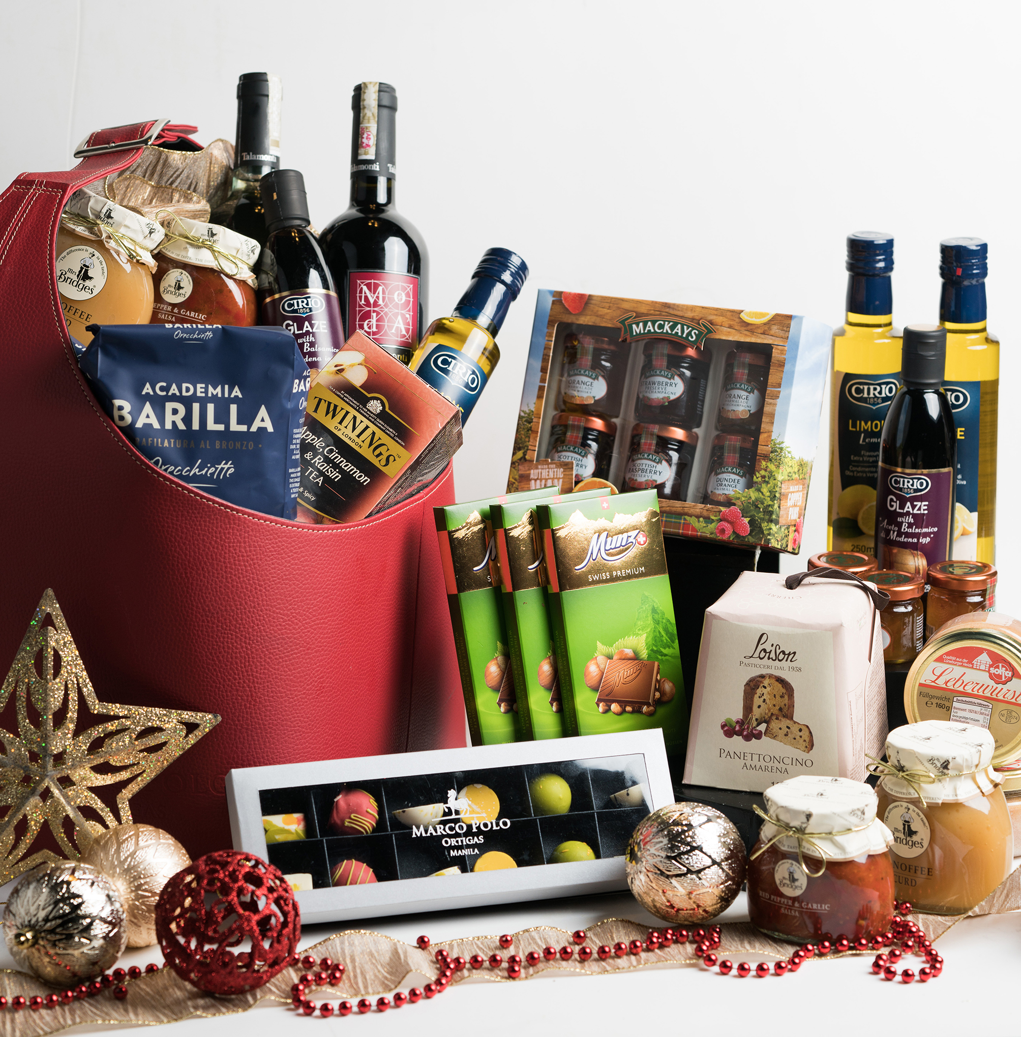 Hamper items that you can put together...