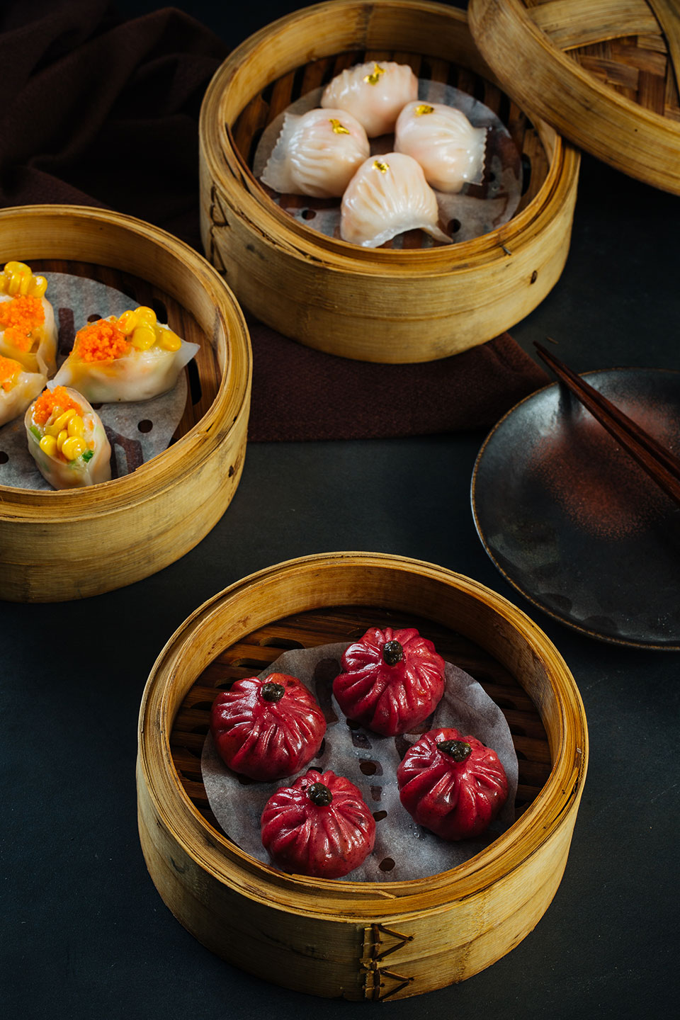 Lung Hin's assorted dim sum