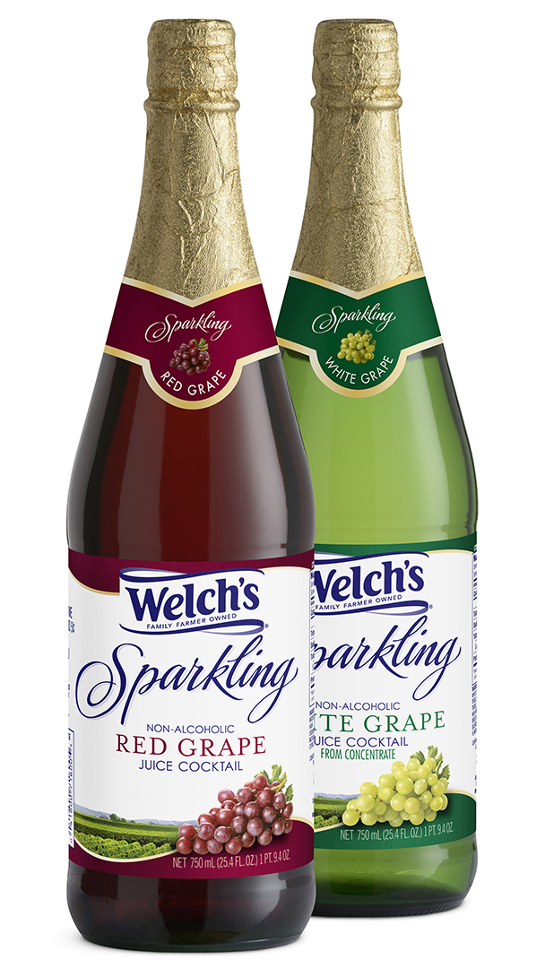 Welch's Sparkling Red Grape and White Grape Juice Cocktails