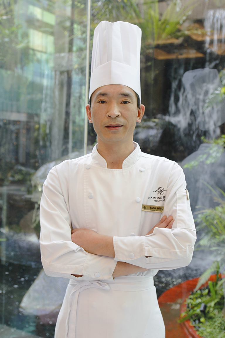 Diamond Hotel Philippines' new Chinese chef Yang Yong