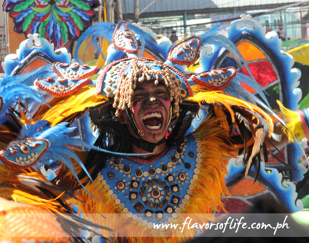 Painted faces and bodies, colorful costumes and high-energy dance performances mark Iloilo's Dinagyang Festival
