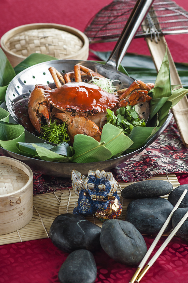 Wok-fried Crab for prosperity