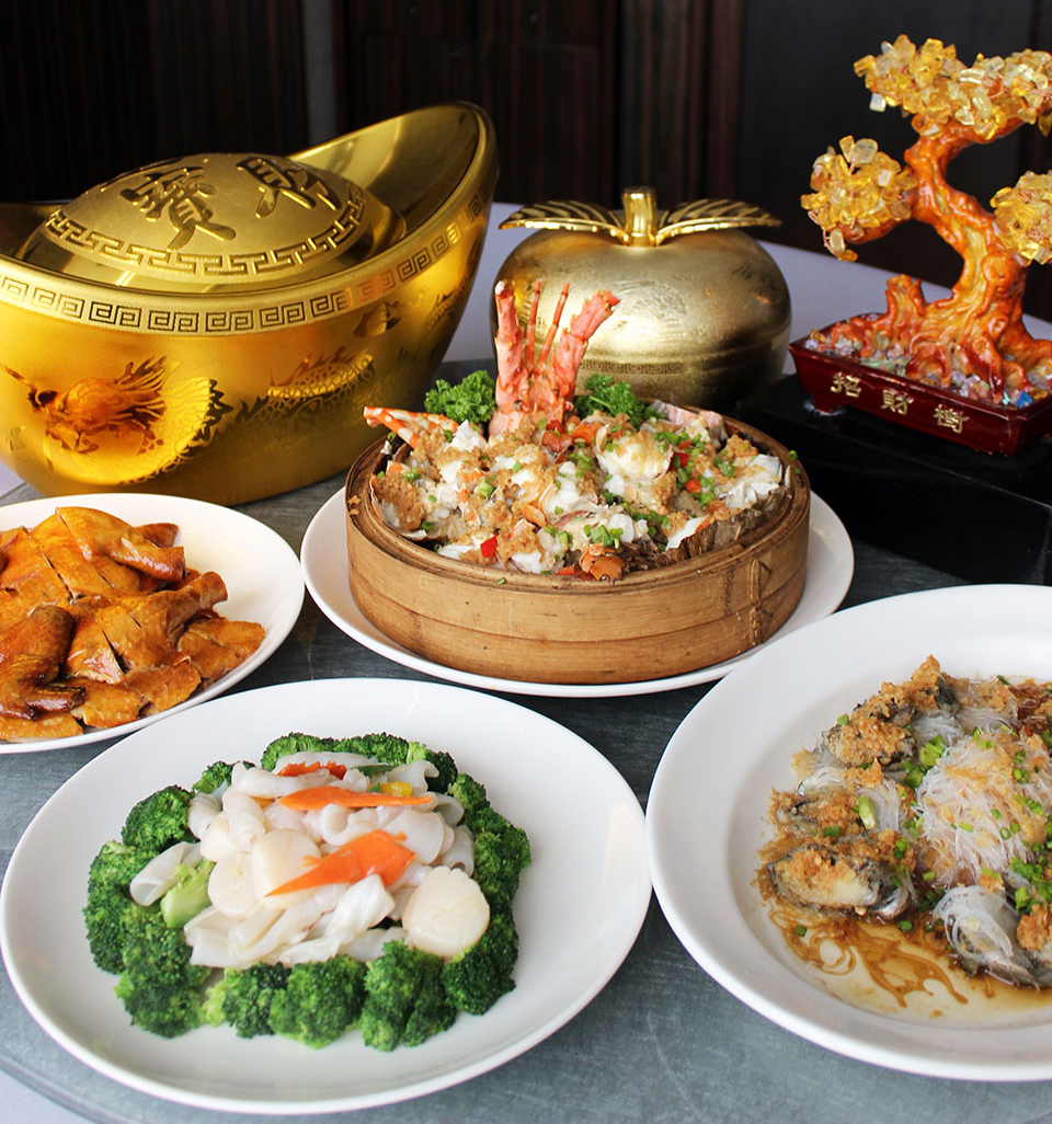 Chinese New Year set menu at Lung Hin Cantonese Restaurant